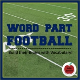 Word Part Football