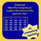 Word Part Jeopardy Big Bundle
