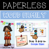 Word-Part - Onset & Rime/Word Family (Distance Learning -