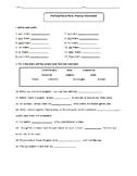 Word Part- Prefix/Suffix Review Worksheets