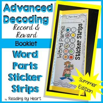 Reading Intervention: Decoding Multisyllabic Words STICKER