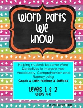 Word Parts We Know  {BUNDLE} - Building Vocab thru Greek & Latin Word Parts