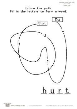 Word Path (3rd Grade)