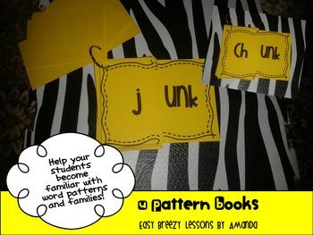 "Word Pattern Books #5 ""U"" Word Families"