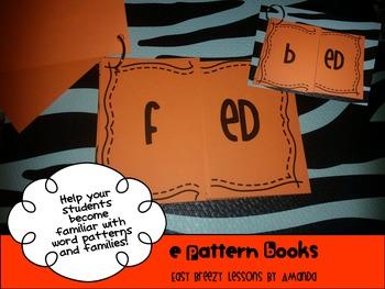 "Word Pattern Books Bundle #2 ""E"" Word Patterns"