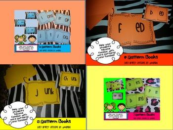 Word Pattern Books Ultimate Bundle (A,E,I,O, and U Word Families)