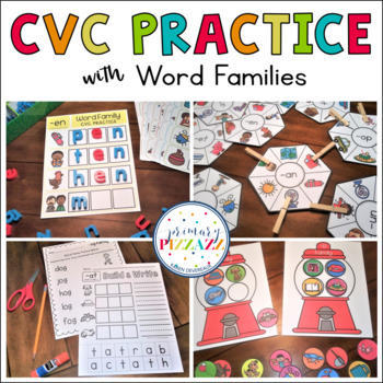 Word-Picture Match w/ Word Families