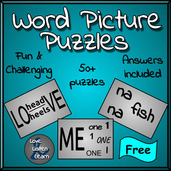 Word Picture Puzzles