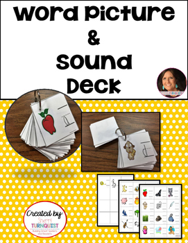 Word Picture & Sound Deck