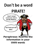 Word Pirate Poster