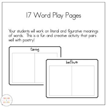 Word Play Poetry