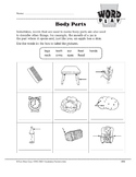 Word Play: Body Parts