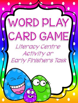 WORD PLAY - CARD GAME