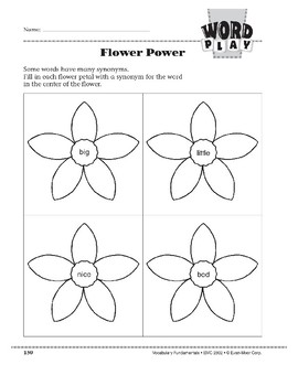 Word Play: Flower Power