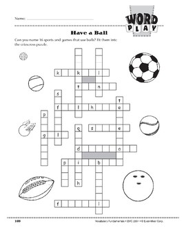 Word Play: Have a Ball