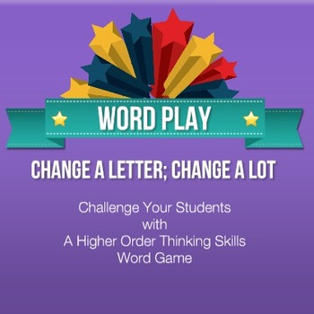 Word Play Higher Order Thinking Skills Activity