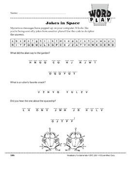 Word Play: Jokes in Space