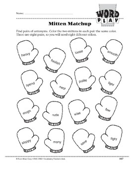 Word Play: Mitten Matchup