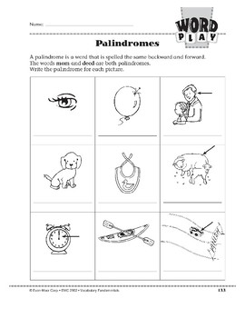Word Play: Palindromes
