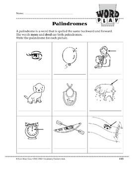 Word Play: Palindromes