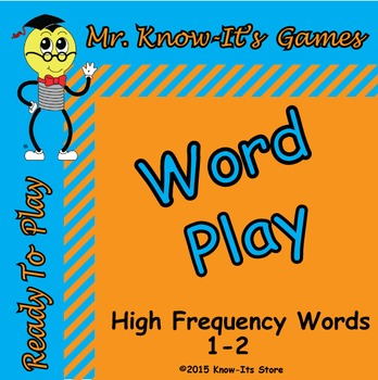 Word Play Game (Sight Words/High Frequency Words)