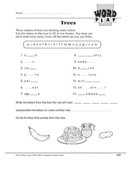Word Play: Trees