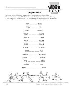 Word Play: Tug-o-War