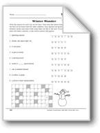 Word Play: Winter Wonder