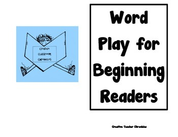 Word Play for Beginning Readers