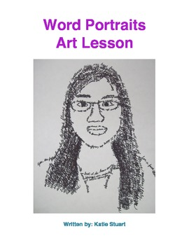 Word Portraits Art and Writing Lesson!