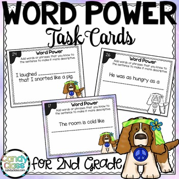 Word Power Task Cards L.2.6