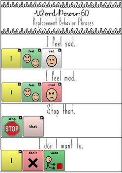 Word Power 60 Navigation Pathways - Replacement Behaviors