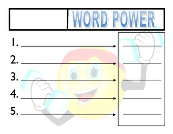 Word Power, Using Latin and Greek Stems
