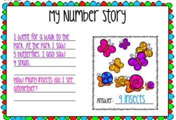 Interactive Number Story Activity