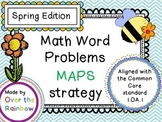 Word Problem 1.OA.1 MAPS Spring Edition! 8 Problems and a