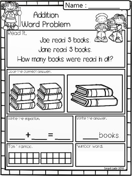 Word Problem Addition & Subtraction