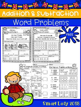 FREE Word Problem Addition & Subtraction
