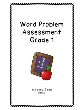 Word Problem Assessment