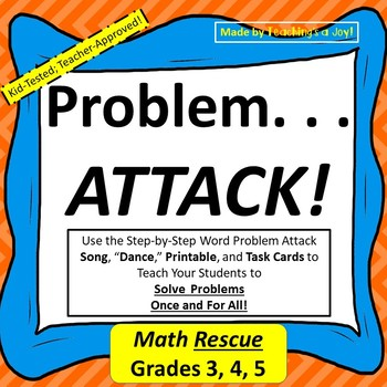 Word Problem Attack Strategy--Close Reading Approach to Math Problems
