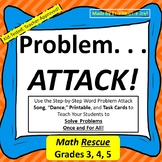 Word Problem Attack Strategy--Close Reading Approach to Ma