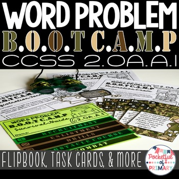Word Problem BOOT CAMP 2.OA.A.1