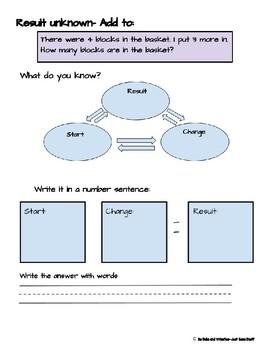 Word Problem Bank