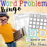 Word Problems Bingo