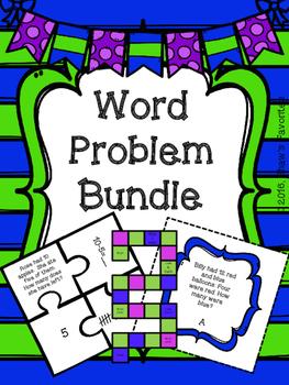 Word Problem Bundle {1.OA.1}