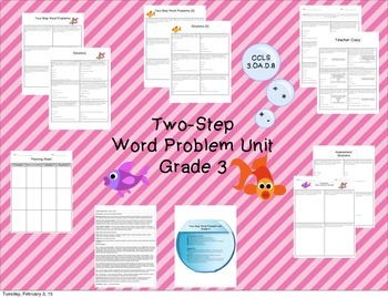 3rd Grade Word Problems - Bundle!