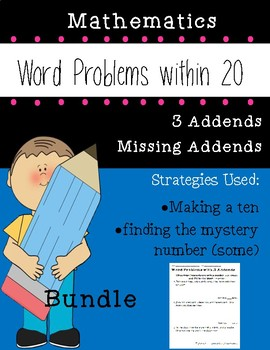 Word Problem Bundle