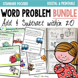 Word Problem Bundle {Addition and Subtraction within 20}