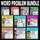 Word Problem Bundle: Math Assessments, Math Practice, Math