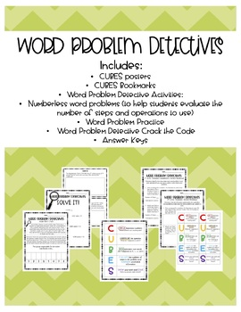 Word Problem Detectives