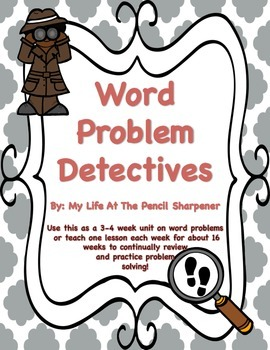 Word Problem Detectives Set 2 - Multiplication, Division a